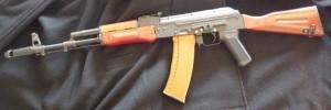 D-boys Kalash Ak74 Realwood Steel Ver.