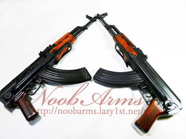 LCT AK47S & GHK AKMS
