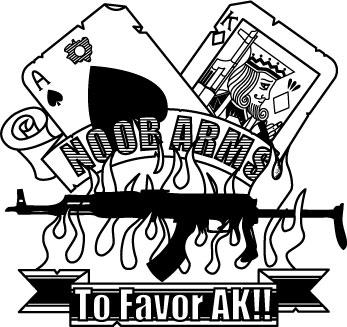 M4 vs. AK ごっこ!!