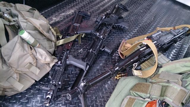 M4 vs AK戦に備えて。