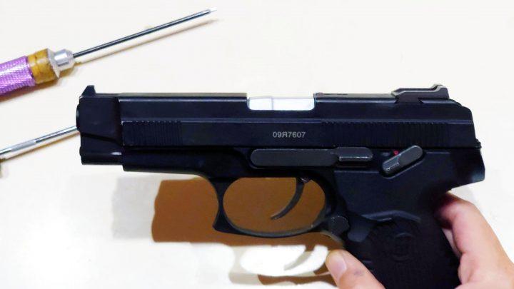 Raptor MP443動作向上、分解、メンテナンス方法